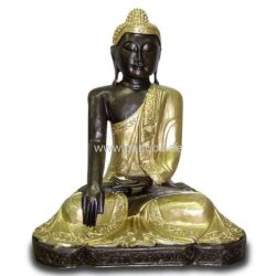 deko figur selig l chelnder asiatischer buddha. Black Bedroom Furniture Sets. Home Design Ideas