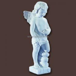 engel figur engel junge gro als gartenfigur und zur. Black Bedroom Furniture Sets. Home Design Ideas