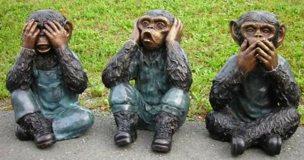 Die Drei Affen Nichts Sehen Nichts Hören Nichts Sagen