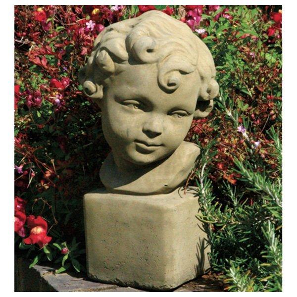 Garten figur büste mädchen