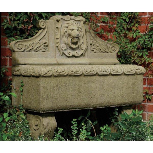 Löwen Wandbrunnen Garten Brunnen