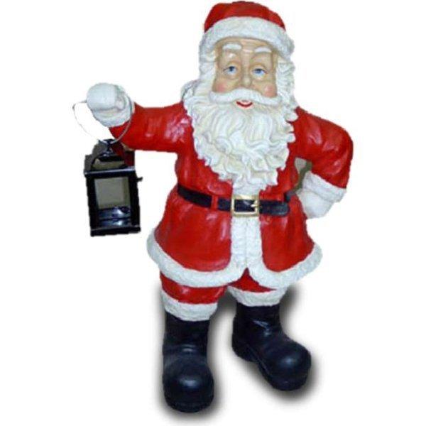 weihnachts figur weihnachtsmann mit stiefeln und laterne. Black Bedroom Furniture Sets. Home Design Ideas