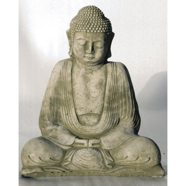 garten figur medium thai buddha. Black Bedroom Furniture Sets. Home Design Ideas