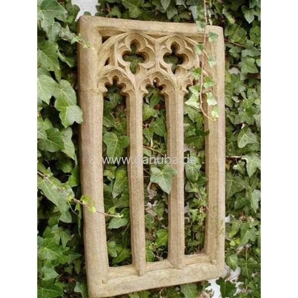 deko figur f r den garten gotischer fenster rahmen large gothic. Black Bedroom Furniture Sets. Home Design Ideas