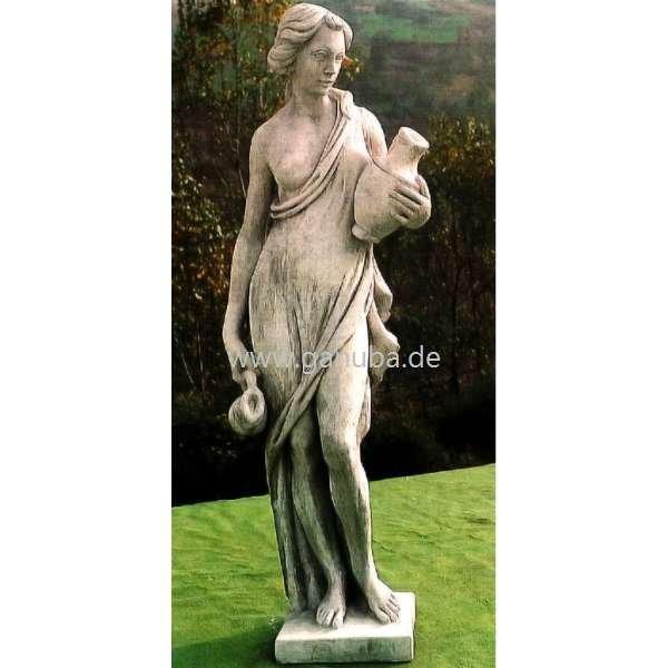 Steinfiguren Garten weiße garten figur steinfigur wasserträgerin gross