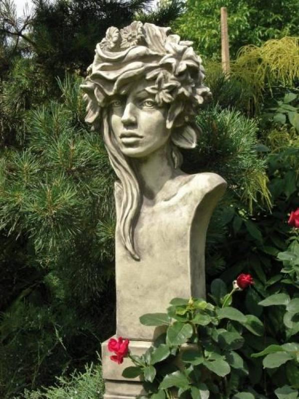 Gartendeko Figuren, garten-figur büste - moderne romantik rosi, Design ideen